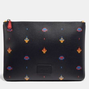 Large Pouch With Allover Atari Print